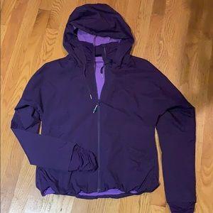 Lululemon purple track jacket